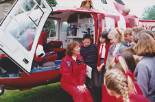 Working on the Air Ambulance as a Paramedic